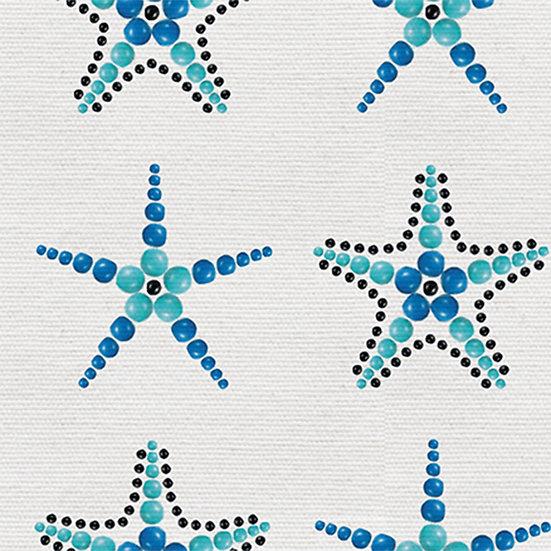 Beaded Starfish. Colour: Sea Green