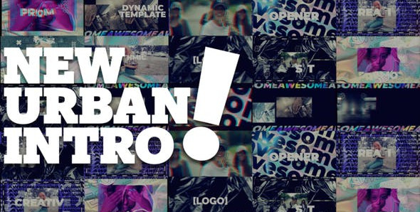 New Urban Style Intro/Opener 29947472 Videohive – Download After Effects Template