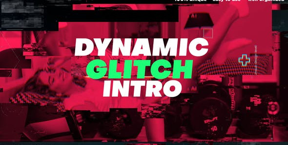 Dynamic Glitch Powerful Intro 29574580 Videohive – Download After Effects Template