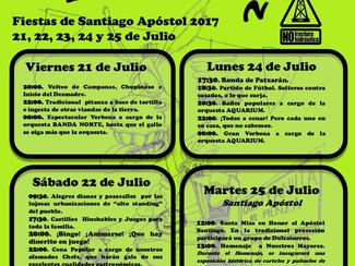 Fiestas de Quintanilla de Pienza 2017