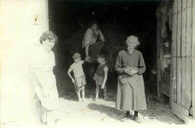051.- 1960 aprox. - En la Cabana de Vitorino