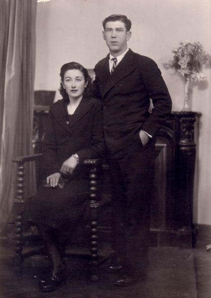 010.- 1940 aprox. - Boda de Felisa y Manuel