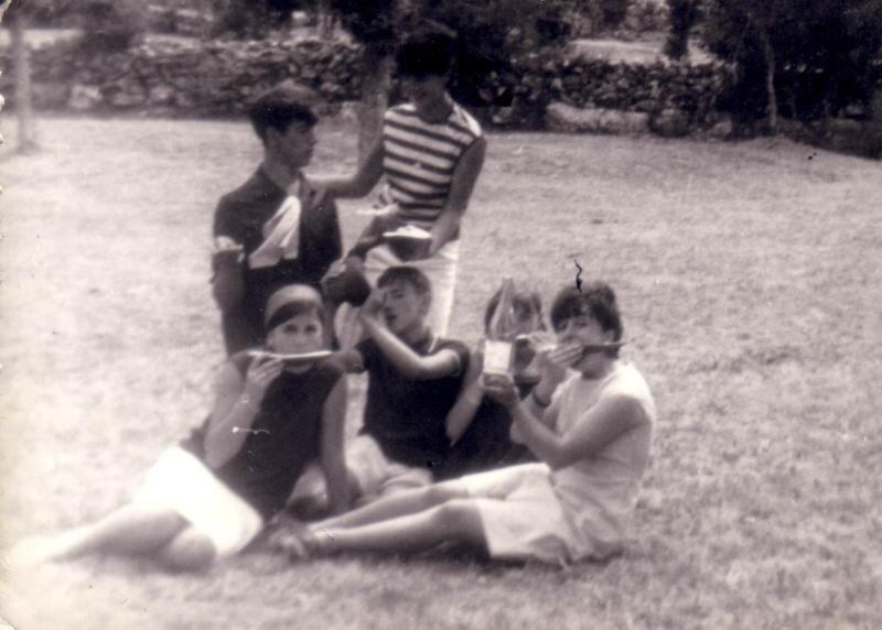 080.- 1965 - Jovenes de Quintanilla en Las Machorras