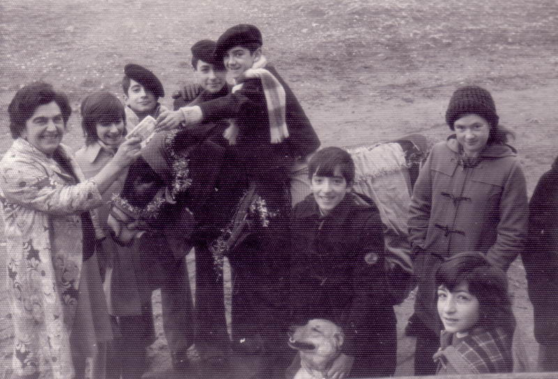 122.- 1972 - Pidiendo el aguinaldo