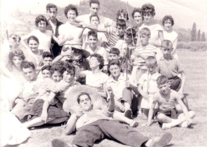 155.- 1960 aprox. - Fiestas de Quintanilla