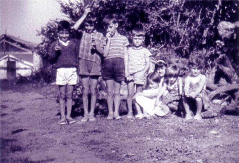 060.- 1960 aprox. - Ninos en Quintanilla