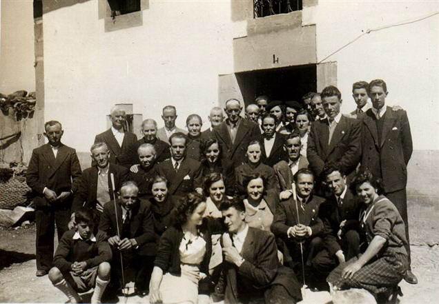 032.- 1950 aprox. - Boda de Jose Luis y Panita