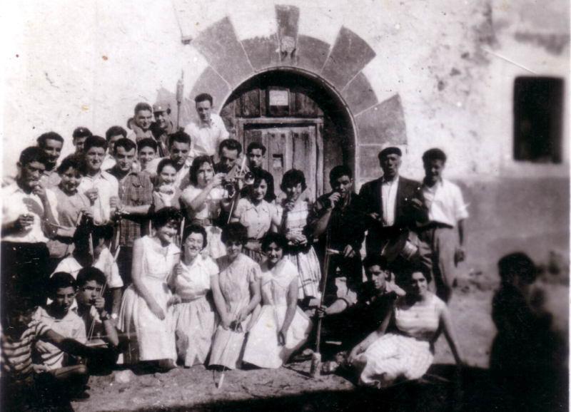 154.- 1960 aprox. - Fiestas de Quintanilla