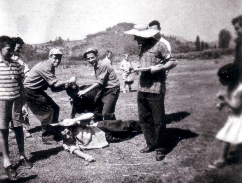 156.- 1960 aprox. - Fiestas de Quintanilla