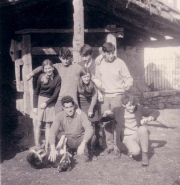 090.- 1969 - En el potro