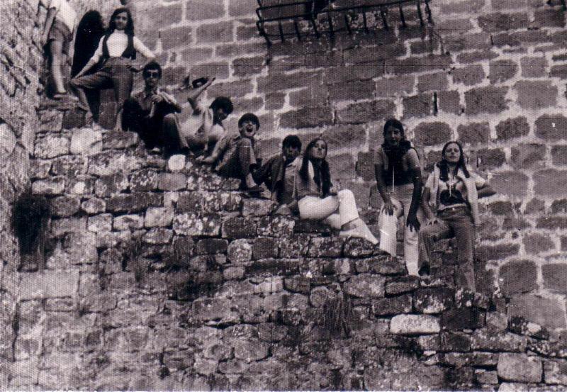 106.- 1970 aprox. - Jovenes de Quintanilla en Espinosa