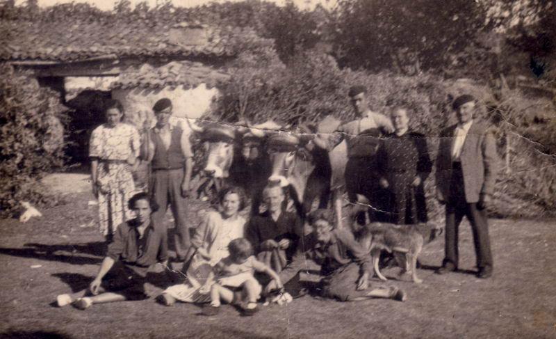031.- 1950 - En la campa de la Venta