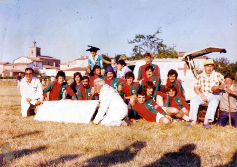 166.- 1976 - Equipo de Solteros