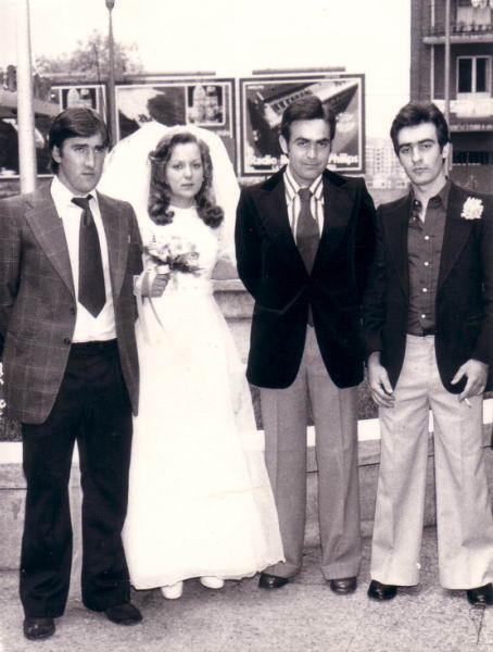 134.- 1974 - Boda de Pepe y Edurne