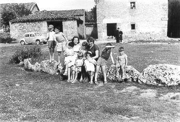 050.- 1960 aprox. - Casa y Cabana de Vitorino