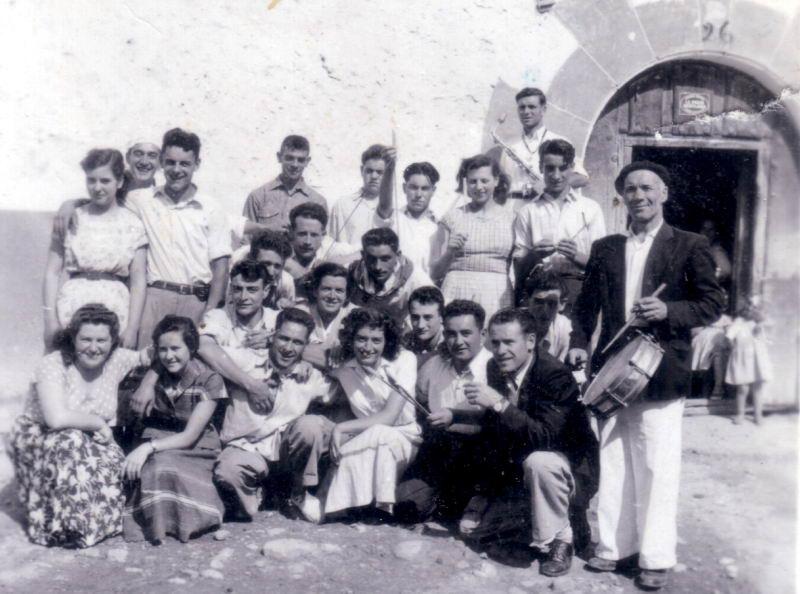 153.- 1960 aprox. - Fiestas de Quintanilla
