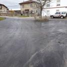 Nuevo asfalto en las calles de Quintanilla