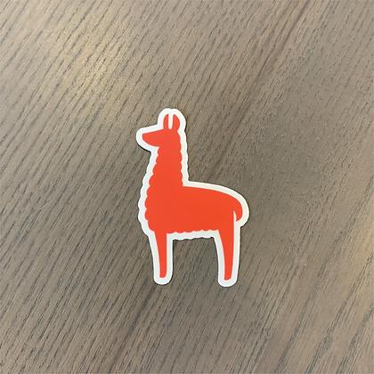 Lambda Llama Sticker