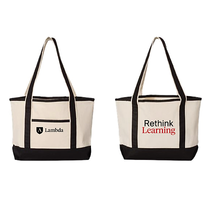 Lambda Tote Bag - Rethink Learning