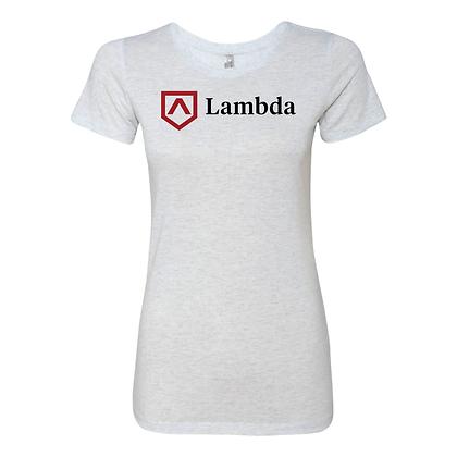 Lambda Logo Womens Tee