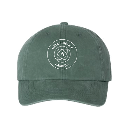 Lambda Stamp DS - Dad Hat - Green