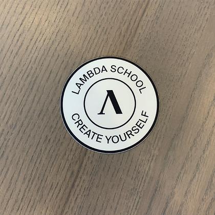 Lambda Stamp Sticker