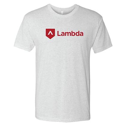 Lambda Logo 2.0: Unisex Tee