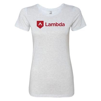 Lambda Logo 2.0: Women's Tee