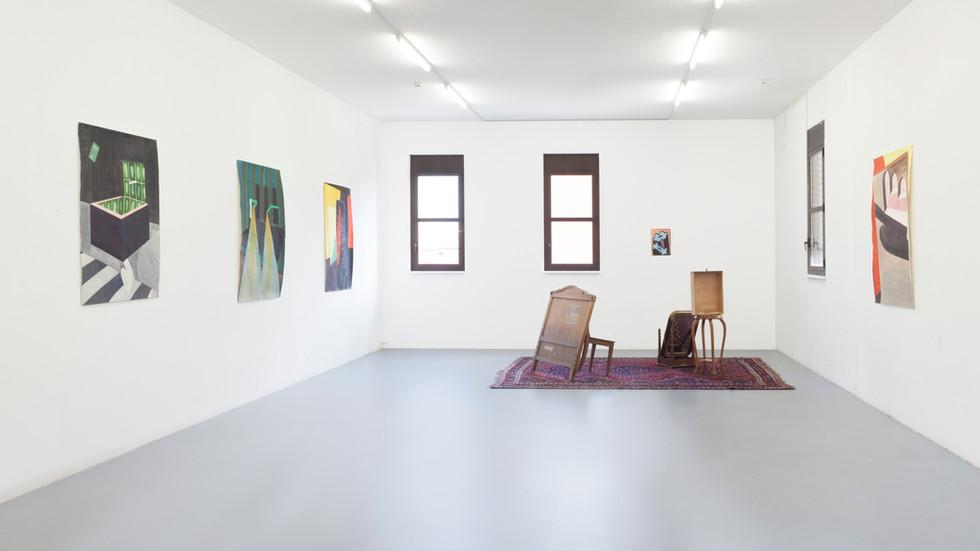 Exhibition view, La Rada, Locarno, 2018