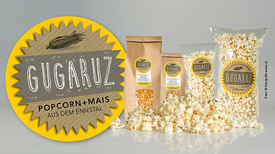 Gugaruz Popcorn-Mais Sortiment