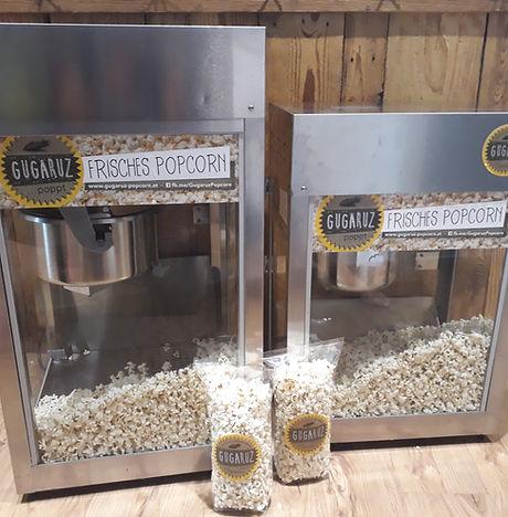 Verleih Gugaruz Popcorn-Maschine für Zeltfeste, Feiern, Events