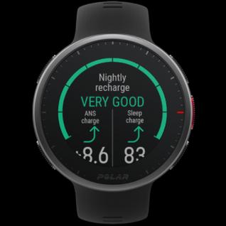 Nightly Recharge™ ist eine nächtliche Erholungsanalyse und zeigt an, wie gut du dich nachts von den Strapazen des Tages erholt hast.