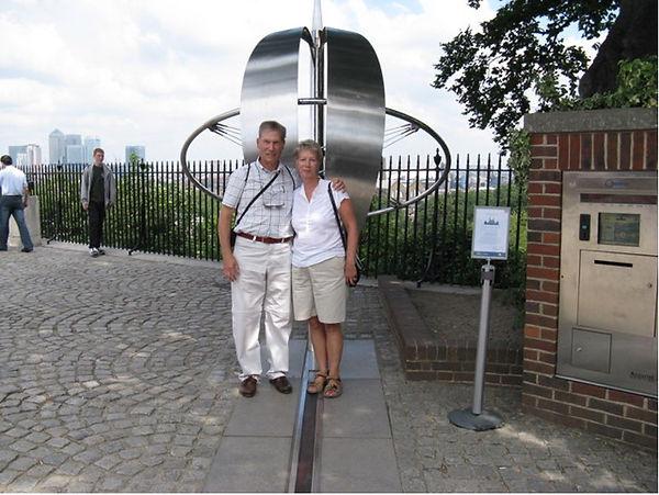 Alan Swain, 2008, Greenwich Observatory - Meridian Line