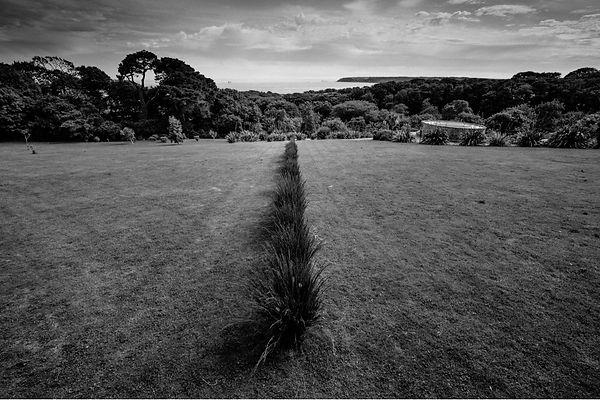 Richard Long, 2013, Tremenheere Line, Land Art