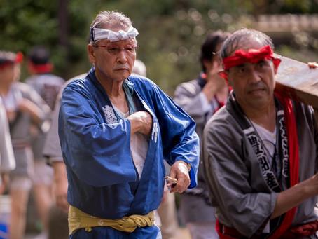 富岡八幡宮子供神輿連合渡御 豊洲町内神輿巡行の記事をアップしました。