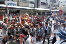 富岡八幡宮 子供神輿連合渡御