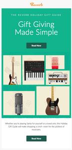 Reverb.com Holiday Gift Guide