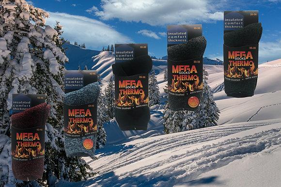 """Mega Socks Thermo """"Extra Warm"""""""