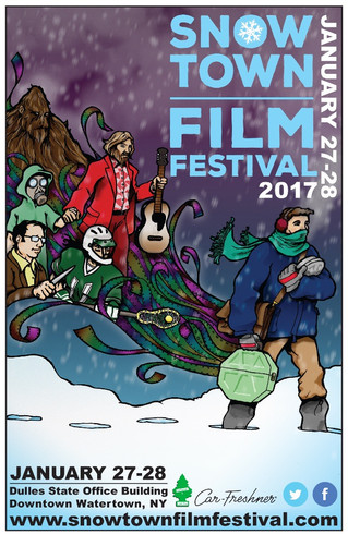 Check out our fantastic 2017 STFF poster