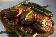 Steak Shiitake Musrooms