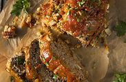 Homemade Savory Spiced Meatloaf with Oni