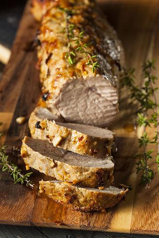 Homemade Hot Pork Tenderloin with Herbs