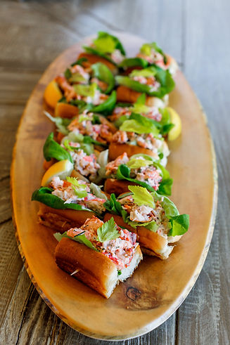 Delicious  New England mini lobster roll