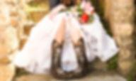 cowboy boots & wedding dress.jpg