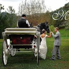 Bride & Groom Carriage