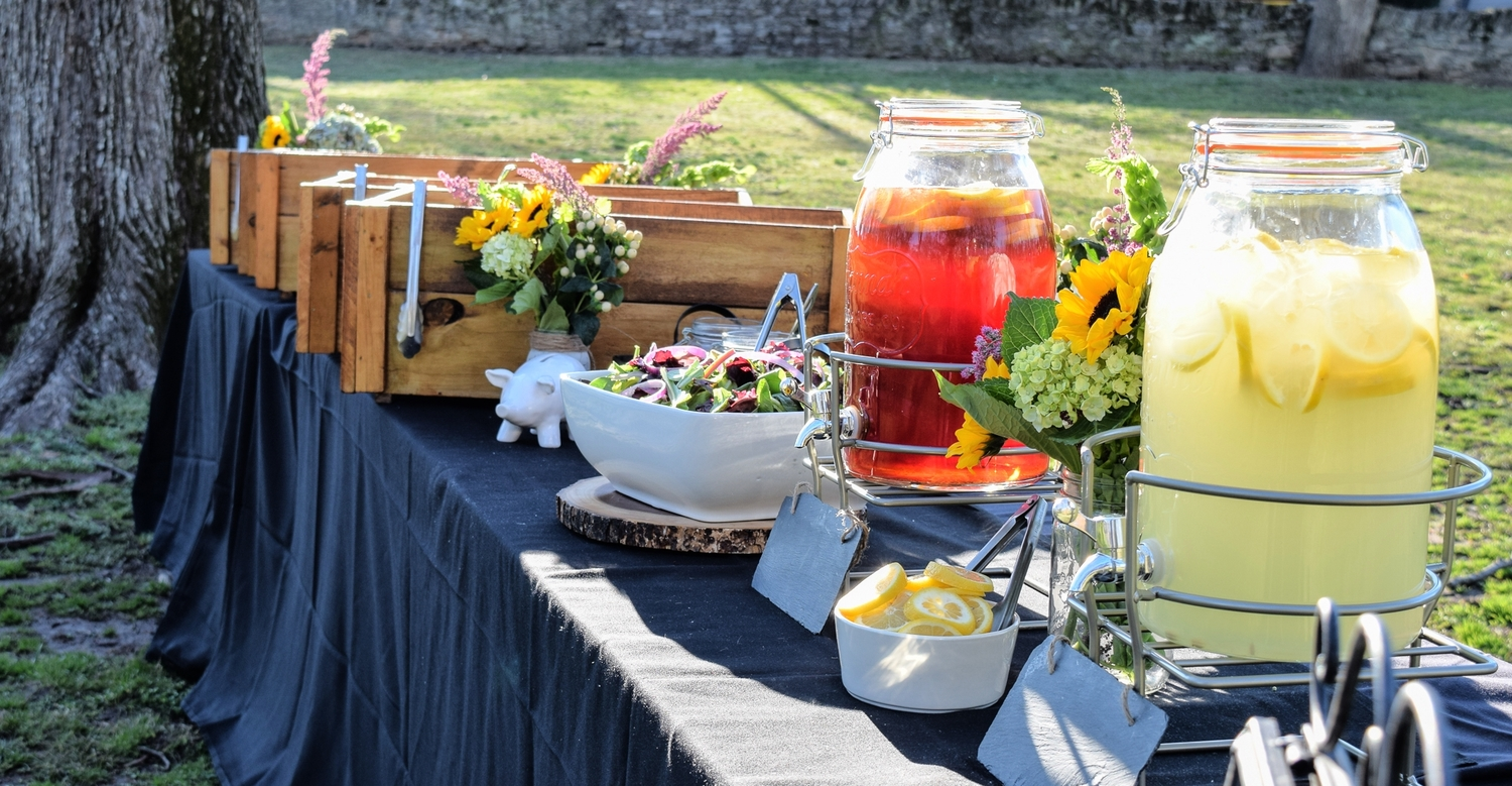 Outdoor Bbq Catering Buffet