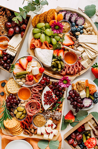 Bright and Colorful Charcuterie Boards and Boxes Fruit, Meat and Cheese.jpg