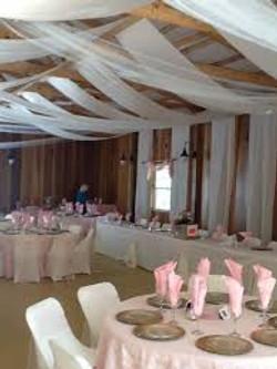 Four Star Barn Wedding Setting