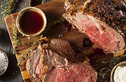 Grass Fed Prime Rib Roast with Herbs & S