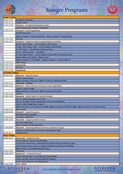 ALIS'19 Bilimsel Program